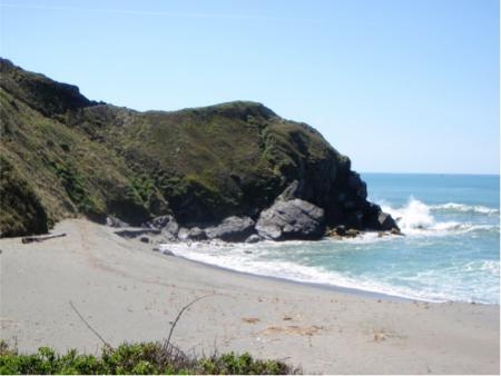 View from planned California Coastal Trail route through Humboldt County.